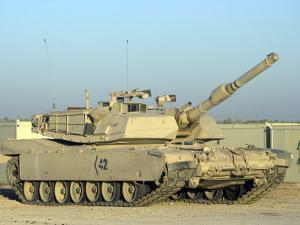 M1 Abram Tank at Camp Warhorse by Stocktrek Images