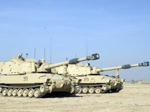 M109 Paladin, a Self-Propelled 155mm Howitzer by Stocktrek Images