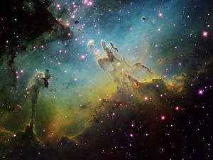 M16 the Eagle Nebula by Stocktrek Images