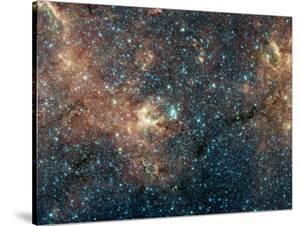 Massive Star Cluster by Stocktrek Images