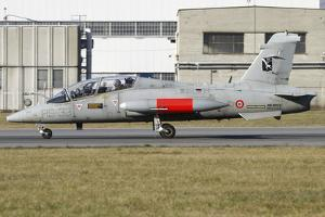 Mb-339Cd of the Italian Air Force Flight Test Unit by Stocktrek Images