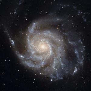Messier 101, the Pinwheel Galaxy by Stocktrek Images