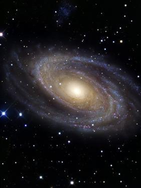 Messier 81 by Stocktrek Images