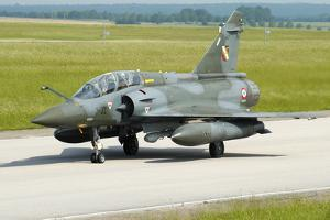 Mirage 2000D of the French Air Force by Stocktrek Images