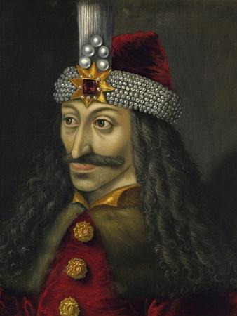 Painting of Vlad the Impaler, Prince of Wallachia
