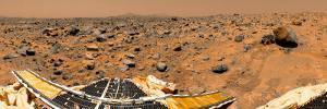 Panoramic View of Mars by Stocktrek Images