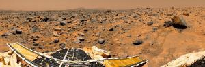 Panoramic View of Mars by Stocktrek Images
