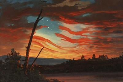 Patriotic and Symbolic Painting after the Attack on Fort Sumter