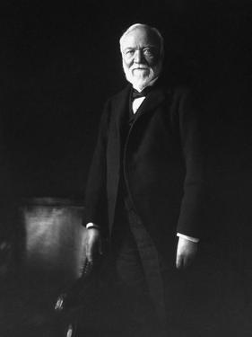 Photo of Industrialist Andrew Carnegie by Stocktrek Images