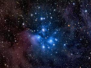 Pleiades, also known as the Seven Sisters by Stocktrek Images