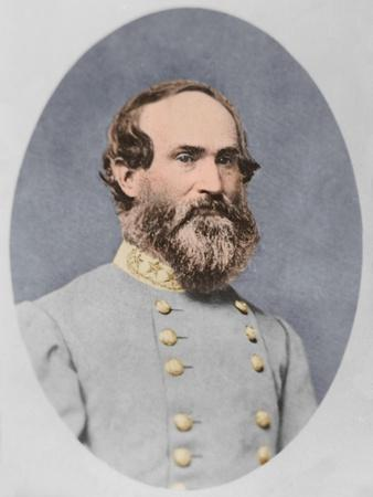 Portrait of Confederate General Jubal Early
