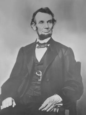 Portrait of President Abraham Lincoln by Stocktrek Images
