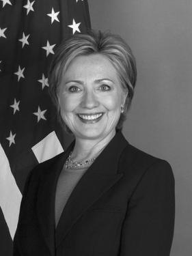 Portrait of Secretary of State Hillary Clinton by Stocktrek Images
