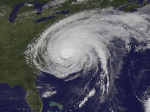 Satellite View of Hurricane Irene by Stocktrek Images