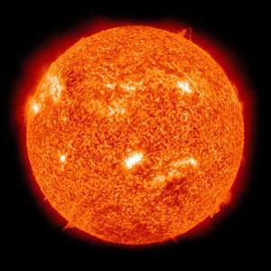 Solar Activity on the Sun by Stocktrek Images