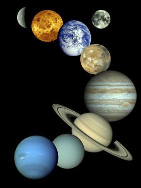 Solar System Montage by Stocktrek Images