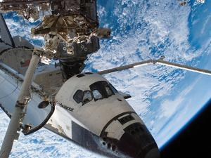 Space Shuttle Endeavour, Docked To the Destiny Laboratory of the International Space Station by Stocktrek Images
