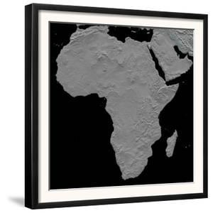 Stereoscopic View of Africa by Stocktrek Images