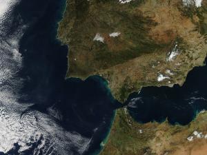 Strait of Gibraltar by Stocktrek Images