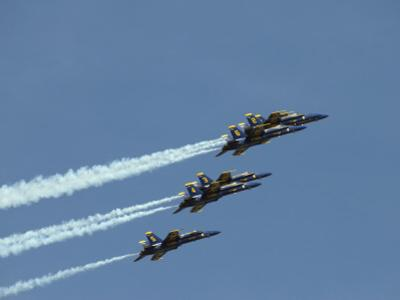 The Blue Angels by Stocktrek Images