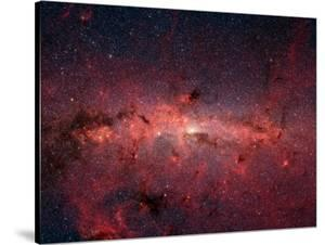 The Center of the Milky Way Galaxy by Stocktrek Images
