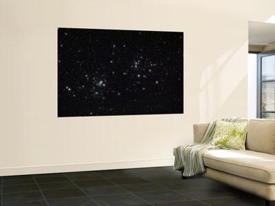 The Double Cluster in the Constellation Perseus by Stocktrek Images