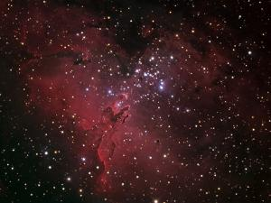 The Eagle Nebula by Stocktrek Images