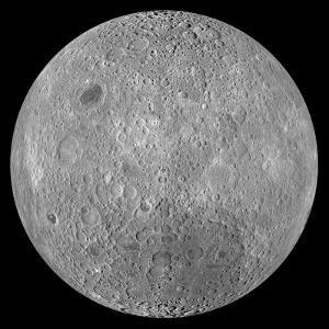 The Far Side of the Moon by Stocktrek Images