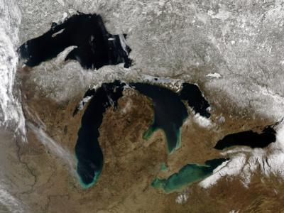 The Great Lakes by Stocktrek Images