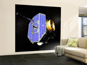 The Interstellar Boundary Explorer Satellite by Stocktrek Images