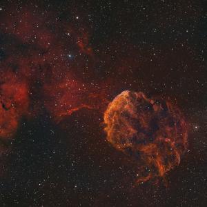 The Jellyfish Nebula by Stocktrek Images