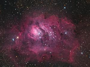 The Lagoon Nebula by Stocktrek Images