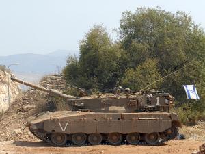 The Merkava Mark III-D main battle tank of the Israel Defense Force by Stocktrek Images