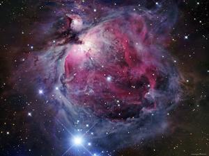 The Orion Nebula by Stocktrek Images