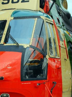 The Sea King Helicopter Used by the Belgian Air Force by Stocktrek Images
