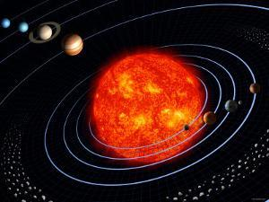 The Solar System by Stocktrek Images
