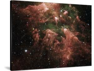 The South Pillar Region of the Star-Forming Region Called the Carina Nebula by Stocktrek Images