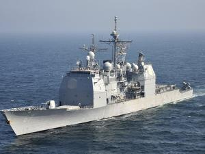 The Ticonderoga-Class Guided-Missile Cruiser USS Shiloh by Stocktrek Images