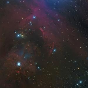 The Waterfall Nebula by Stocktrek Images