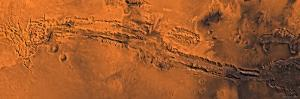 Valles Marineris, the Great Canyon of Mars by Stocktrek Images