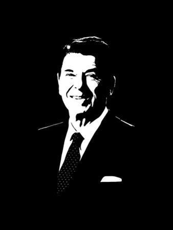Vector Portrait of President Ronald Reagan by Stocktrek Images
