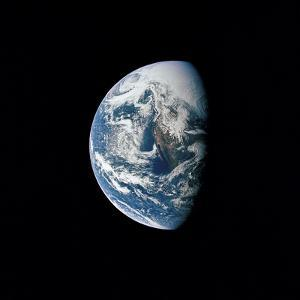 View of Earth Taken from the Apollo 13 Spacecraft by Stocktrek Images