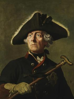 Vintage Painting of Frederick the Great of Prussia by Stocktrek Images