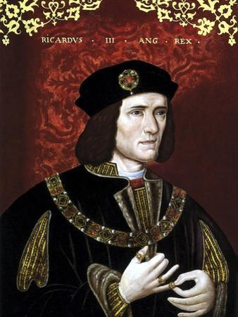Vintage Portrait of King Richard Iii of England