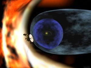 Voyager 2 Spacecraft Studies the Outer Limits of the Heliosphere by Stocktrek Images