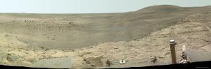 Westward View of Mars, True Color by Stocktrek Images
