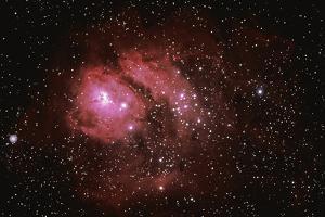 Lagoon Nebula by Stocktrek