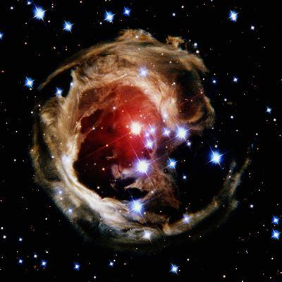 Variable Star V838 Monocerotis in Constellation Monoceros