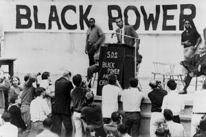 Stokely Carmichael Speaking at the University of California at Berkeley, Ca. 1965-67