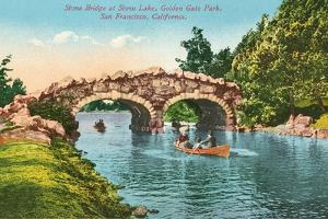 Stone Bridge, Golden Gate Park